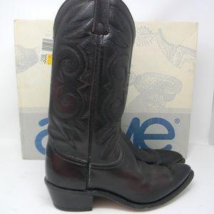 🇺🇸 Acme cowboy boots mens size 9.5D